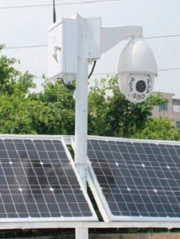 Painel Solar com redes integradas DVIW